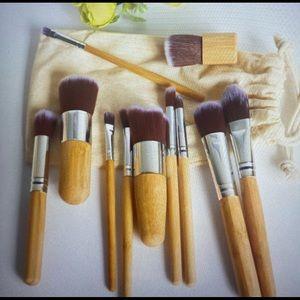 Make up brushes 11 pieces set
